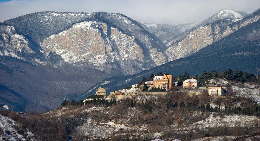 Zima na Krymie