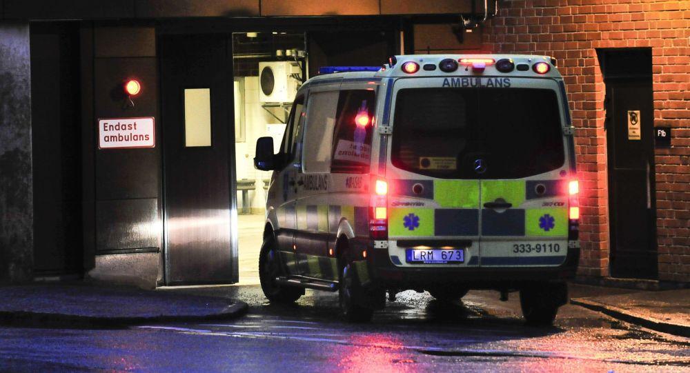 Автомобиль скорой помощи в Швеции