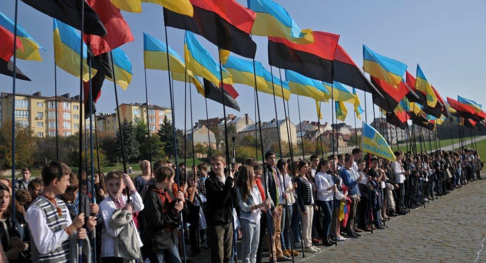 Obchody rocznicy utworzenia UPA, Ukraina