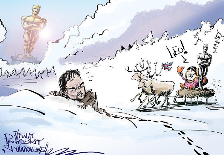 Oscar dla DiCaprio będzie zrobiony w Rosji