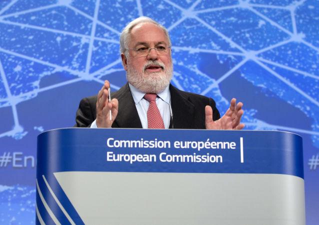 Komisarz ds. działań w dziedzinie klimatu i energii Miguel Arias Cañete