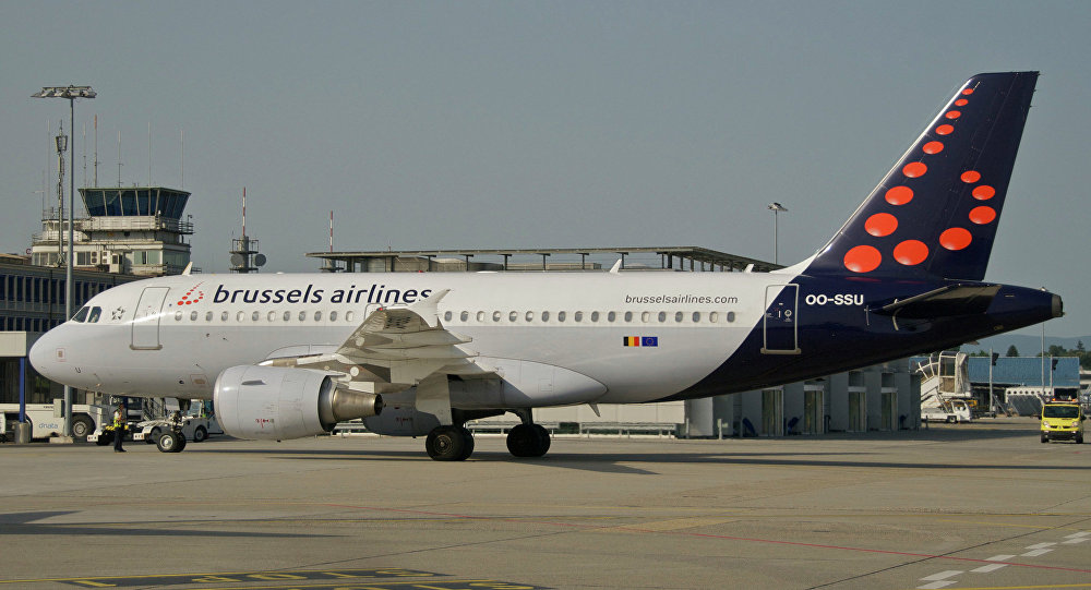 Samolot linii lotniczych Brussels Airlines
