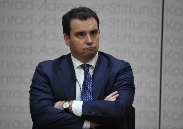 Były minister rozwoju gospodarczego i handlu Ukrainy Aivaras Abromavicius