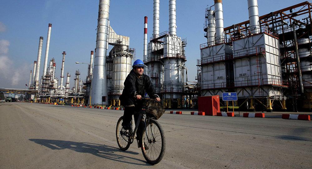Wydobycie ropy w Iranie