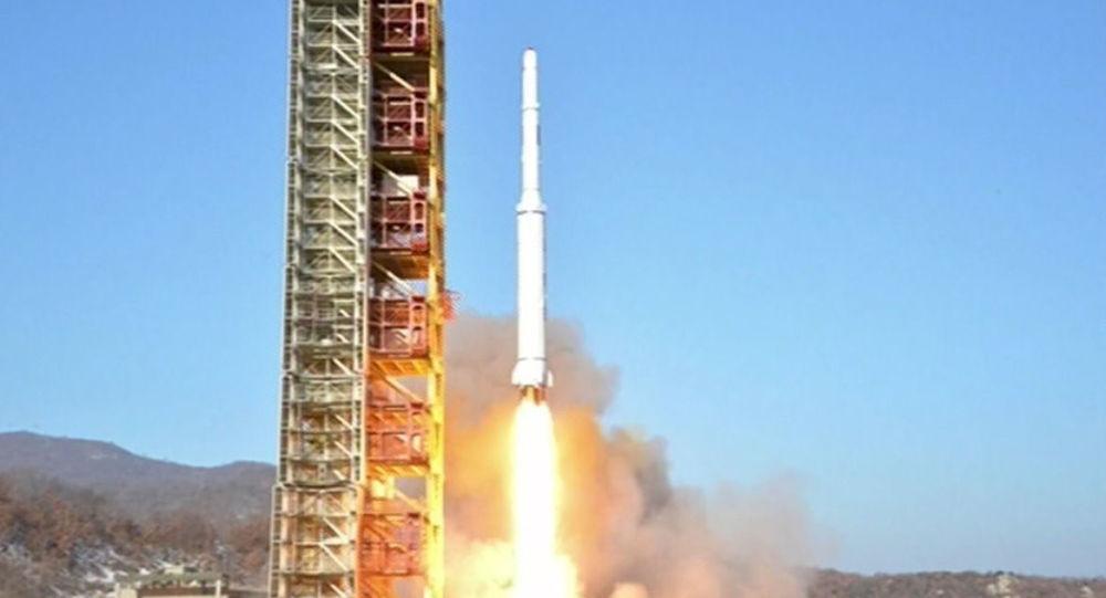 Korea Północna, wystrzelenie rakiety