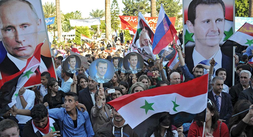 Poparcie dla rosyjskiej operacji w Syrii