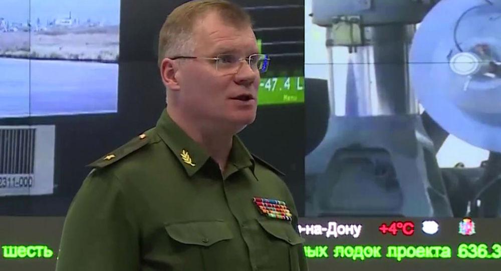 Rzecznik Ministerstwa Obrony Rosji, generał-major Igor Konaszenkow