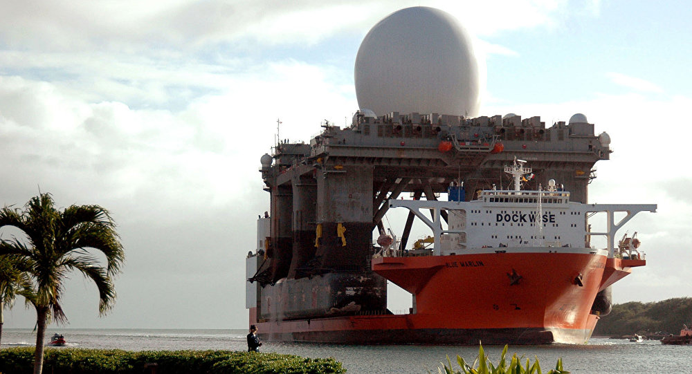 Amerykański pływający radar pasma X SBX (Sea Based X-Band)
