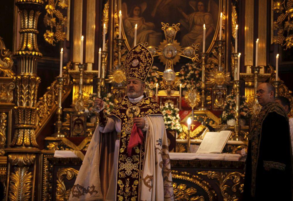 Msza Wigilii Paschalnej w Stambule