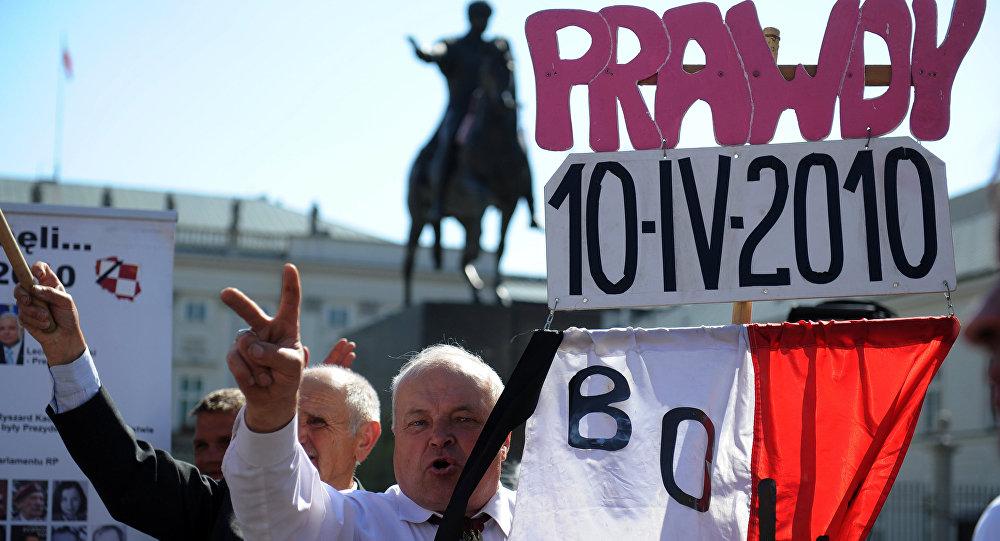 Manifestacja w 2. rocznicę katastrofy smoleńskiej, Warszawa, 10 kwietnia 2012