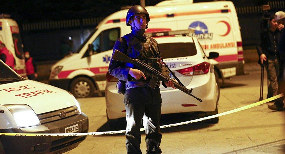 Atak terrorystyczny w Ankarze