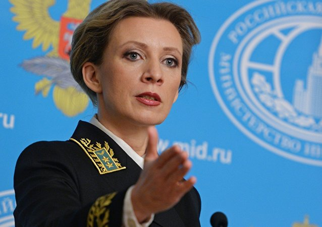 Briefing rzeczniczki rosyjskiego MSZ Marii Zacharowej
