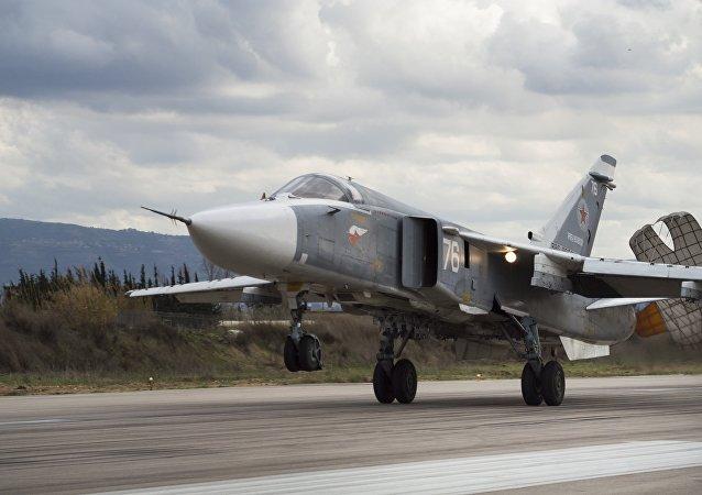 Rosyjski Su-24-Jet w Syrii