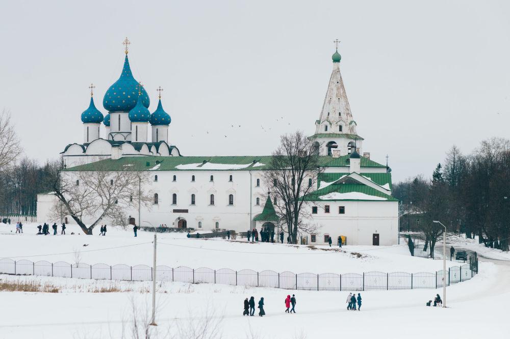 Katedra Bożego Narodzenia i pokoje archijerejskie w Suzdalu