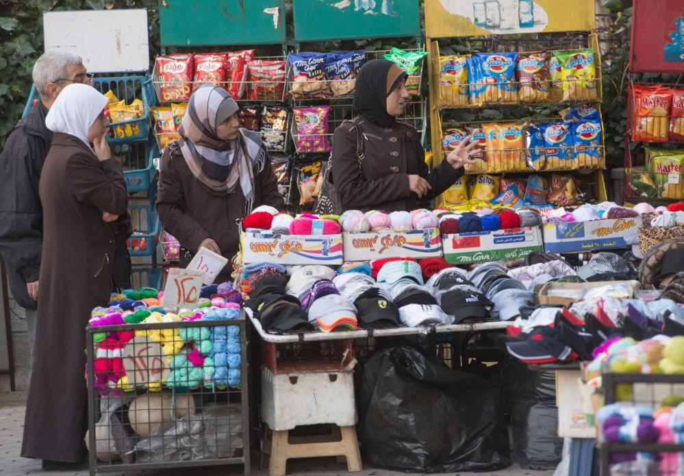 Handel na ulicy Damaszku