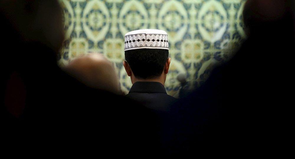 Modlący się muzułmanie