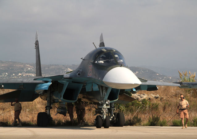Baza lotnicza Hmeymim w Latakii, Syria