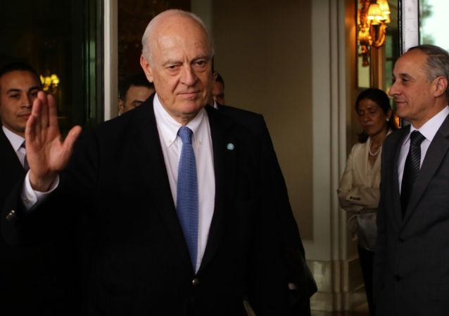 Specjalny wysłannik ONZ do Syrii Staffan de Mistura