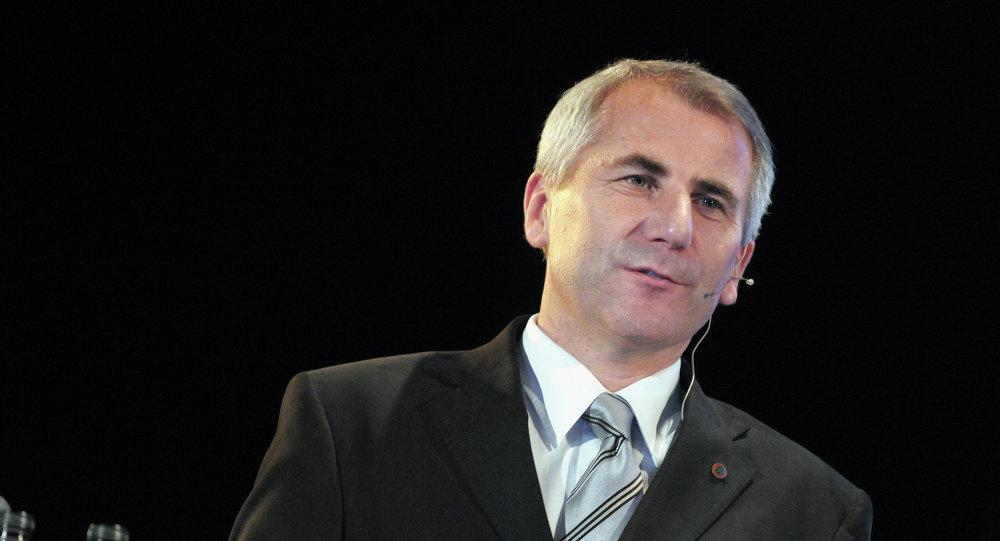 Vygaudas Usackas, jefe de la representación de la UE en la Federación Rusa,