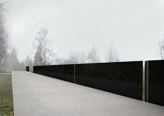 Pomnik w Smoleńsku, projekt Andrzeja Sołygi, Dariusza Śmiechowskiego i Dariusza Komorka