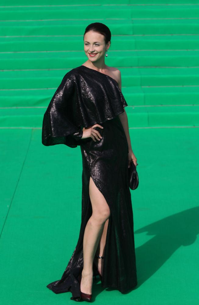 Aktorka Anna Snatkina na 33 Międzynarodowym Moskiewskim Festiwalu Filmowym