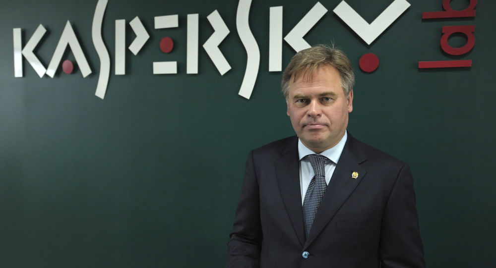 Założyciel i dyrektor Kaspersky Lab Jewgienij Kasperski