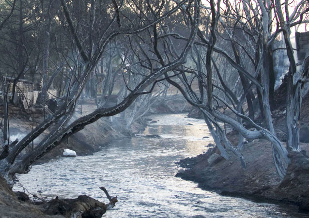 Rzeka Atoyac w Meksyku