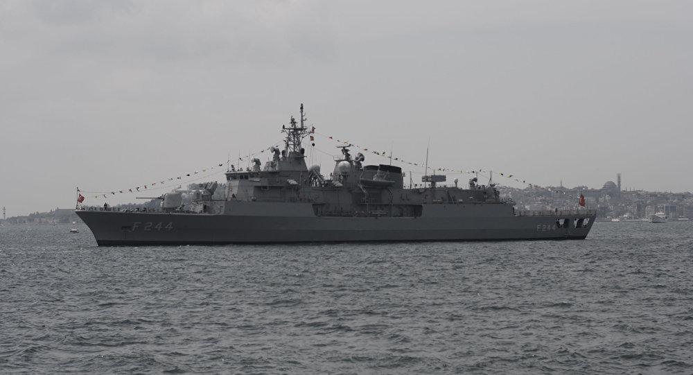Fregata TCG Barbaros tureckiej marynarki wojennej