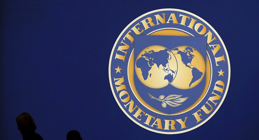 Logo Międzynarodowego Funduszu Walutowego