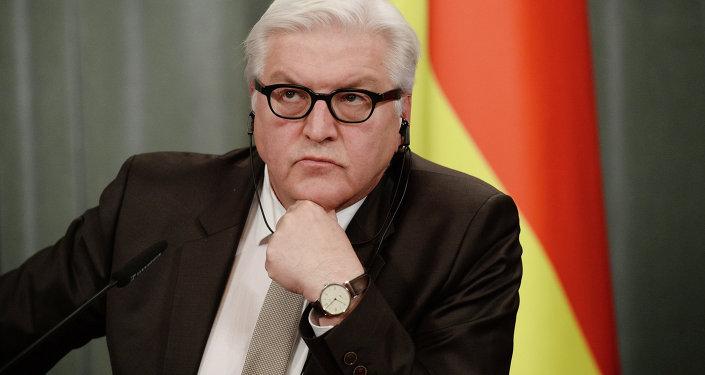 Szef niemieckiej dyplomacji Frank-Walter Steinmeier