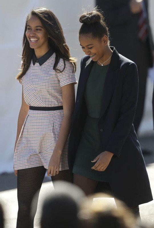 Malia i Sasha Obama