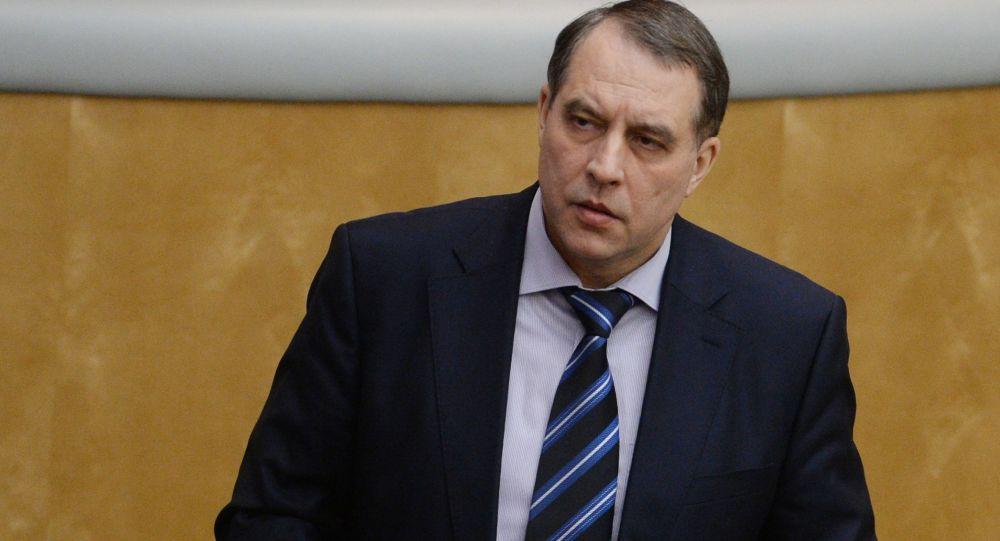 Wiceminister energetyki Rosji Jurij Sentiurin