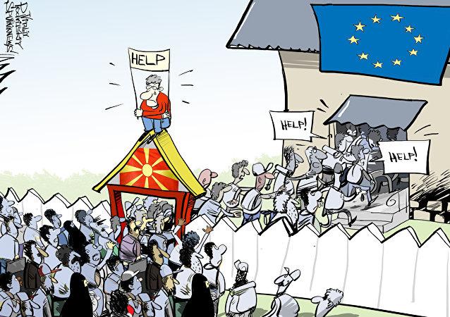 Macedonia zamknęła granicę dla wszystkich imigrantów