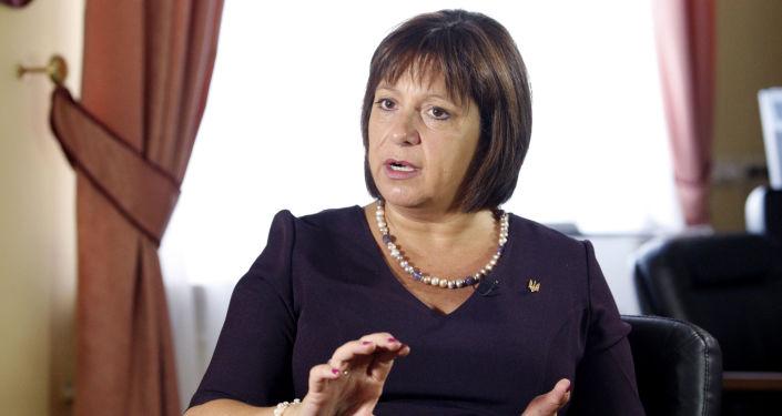 Minister finansów Ukrainy Natalie Jaresko