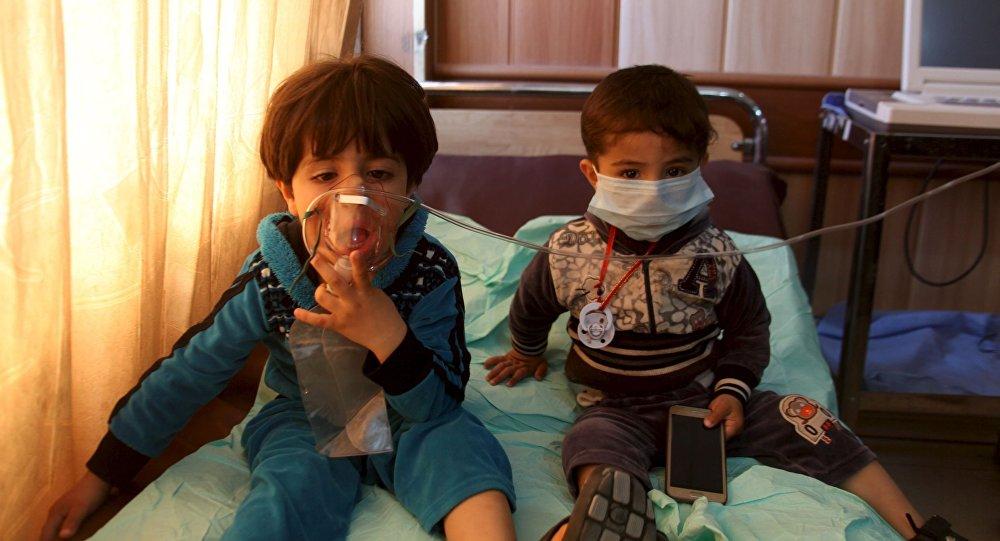 Ofiary ataku chemicznego w irackim mieście Taza