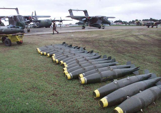 Amerykańskie samoloty szturmowe OV-10 Bronco