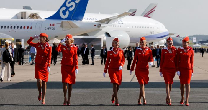 Stewardessy Aeroflotu.