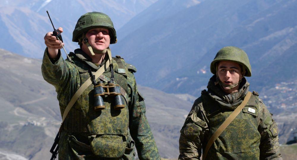 Ćwiczenia taktyczne w republice Północnej Osetii-Alanii