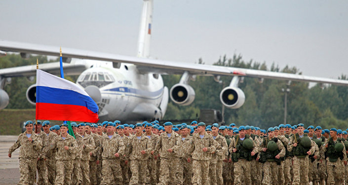 Rosyjscy żołnierze