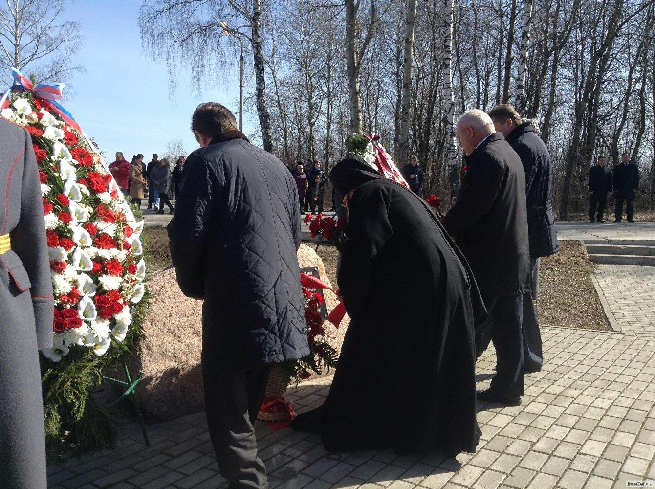 Uroczystości upamiętniające ofiary katastrofy Tu-154 w Smoleńsku