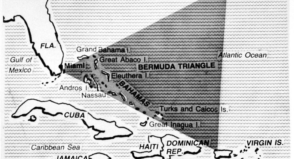 Trójkąt Bermudzki na mapie