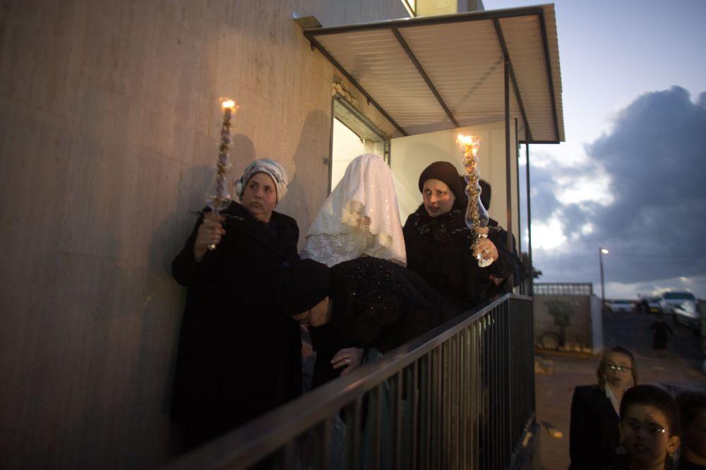 Tradycyjny żydowski ślub w Netanji