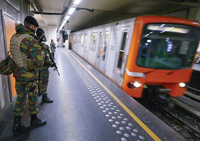 Metro Brukseli