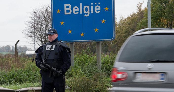 Belgijski policjant