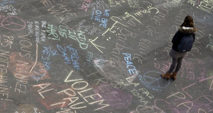 Reakcja ludzi na zamach terrorystyczny w Brukseli