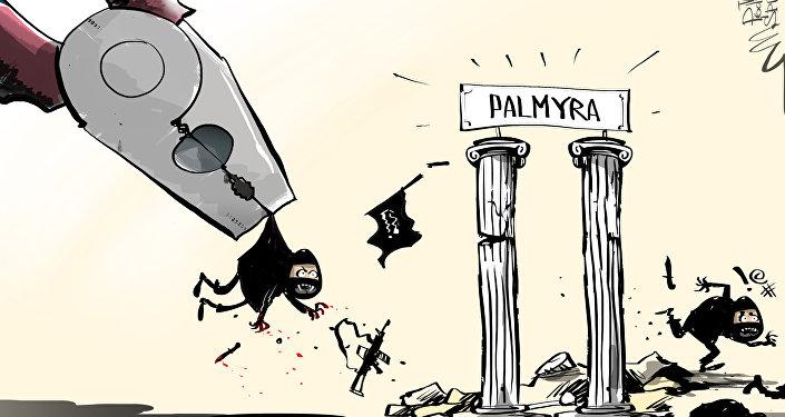 Syryjska armia wyzwoliła Palmyrę
