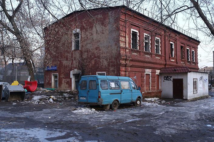 Budynek przy ulicy Kalanciewskaja 32/61 w Moskwie