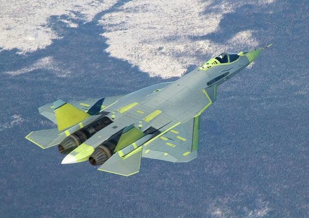Rosyjski myśliwiec T-50 (PAK FA)