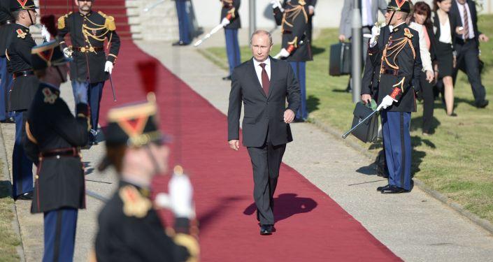 Wizyta prezydenta Władimira Putina we Francji, 5 czerwca 2014