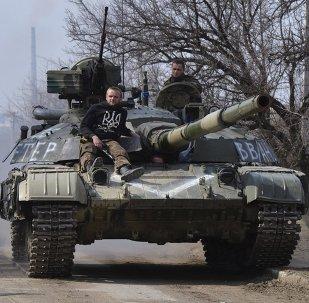 Zacharczenko: siły zbrojne sprowadziły pod Donieck ponad 100 jednostek sprzętu